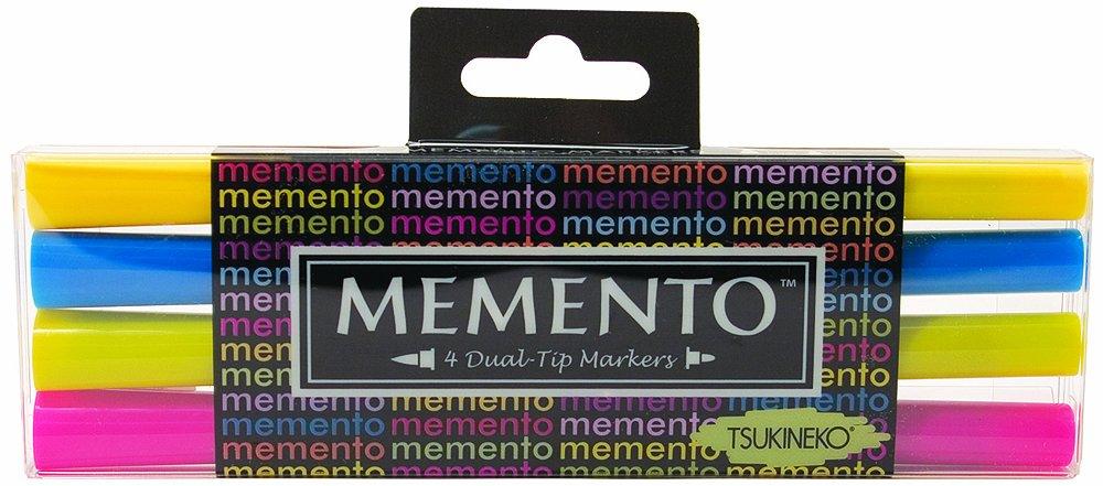 Tsukineko PM-100-18 Memento Dual Tip Markers Dolphin Play