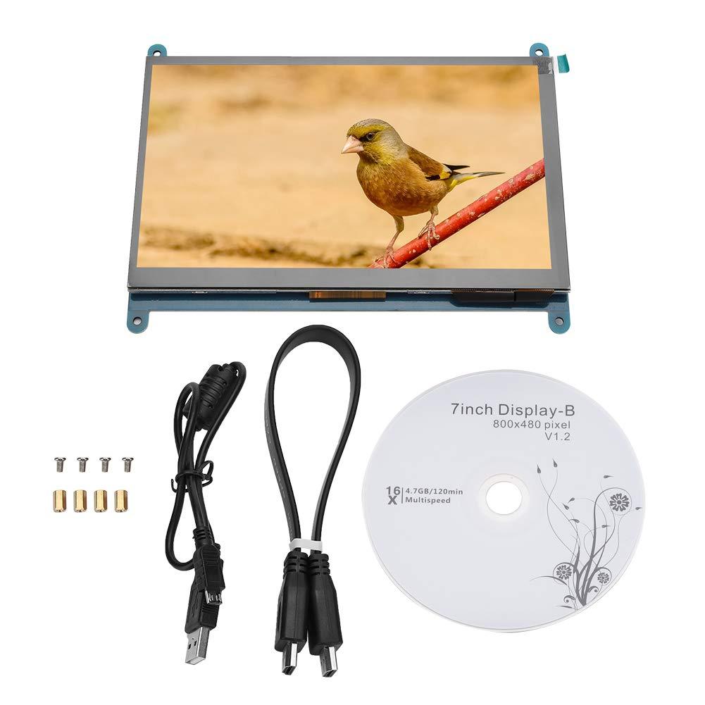 LCD Display Module, 7Inch TFT LCD Display Module1024×600/800X480 HDIMI Raspberry Pi TFT LCD Touch Screen Display Monitor,TFT Display Module (800X480)
