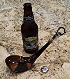 Vintage Golf Club Bottle Opener Made from an actual wood golf club head For Sale