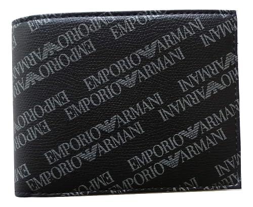 check-out e4b28 007bd Emporio Armani portafogli uomo logato: Amazon.it: Scarpe e borse