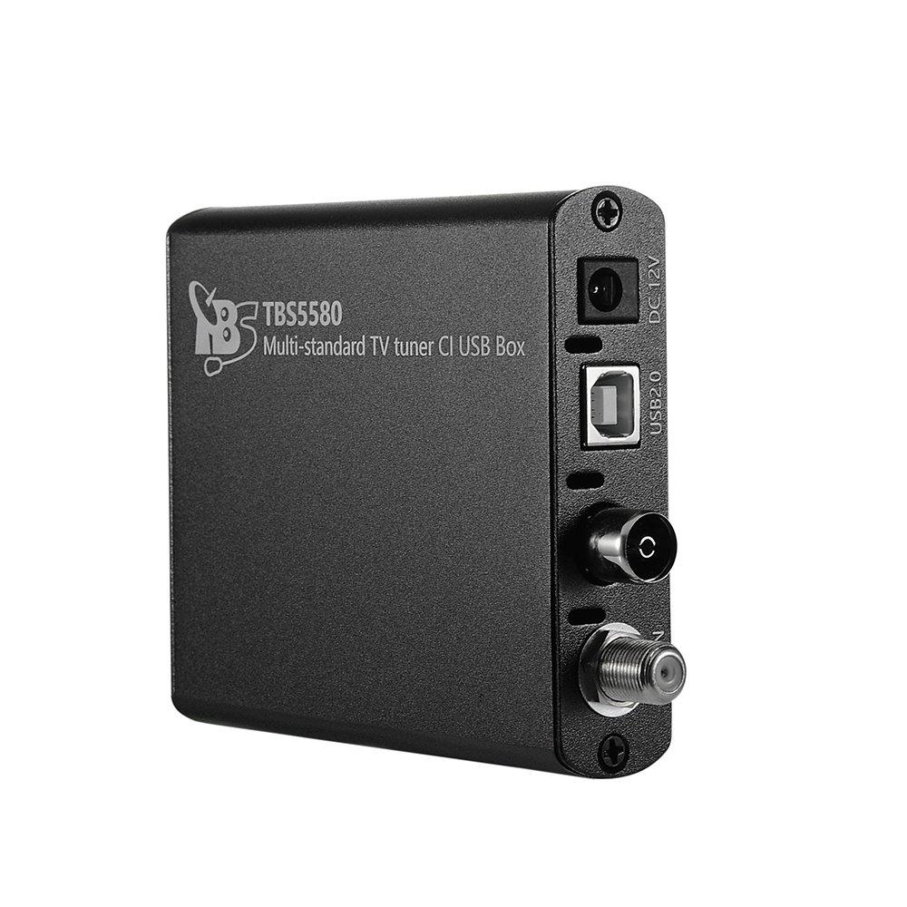 TBS 5520SE DVB-S2X// S2// S// T2// T// C2// C// ISDB-T Digital TV Tuner USB Box for Live TV// Window// Linux// HTPC// IPTV Server