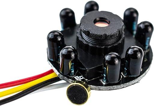 Mini Spionage Kamera 205 Ir T 5 Mio Pixel Bullet Camera Pinhole Lochkamera Versteckte Kamera Spy Cam Sehr Lichtstark Nachtsicht Video Und Foto Von Kobert Goods Baumarkt