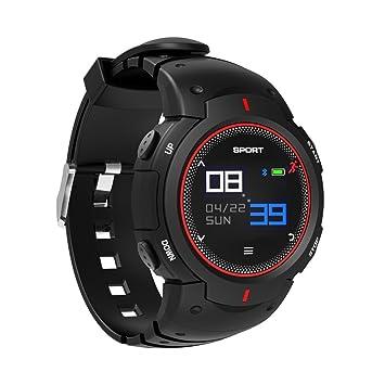 Desconocido Reloj Inteligente Deportivo Profesional Resistente al Agua con Bluetooth, Monitor de frecuencia cardíaca, Monitor de Actividad, ...