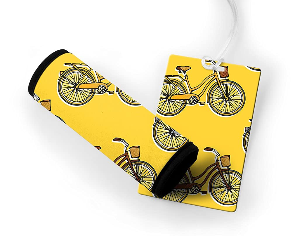 Bicycles Luggage Tag & Luggage Finder Wrap Set TAGLUGMIS223