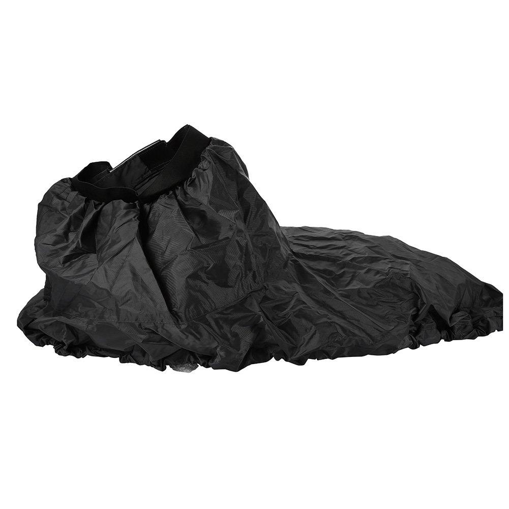 VGEBY Kayak Spray Skirt, Universal Adjustable Waterproof Nylon Water Sports Boat Canoe Surf Cover Accessories(Black) by VGEBY