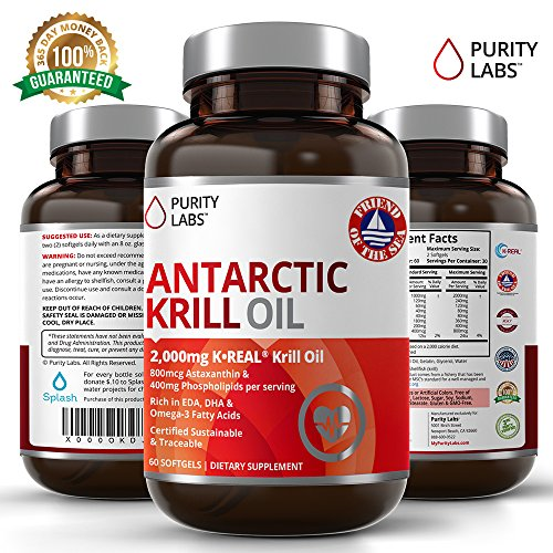 Purity Labs Pure Antarctic Krill Oil