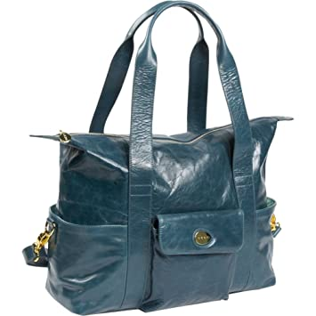 Amazon.com : Collins Diaper Bag Color: Dark Blue : Diaper Tote ...