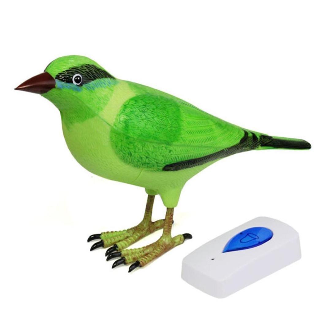 Binmer(TM)Home Wireless Bird Remote Control Chime Digital