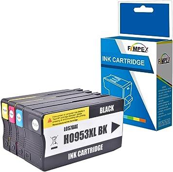 Fimpex Remanufacturado Tinta Cartucho Reemplazo Para HP Officejet ...