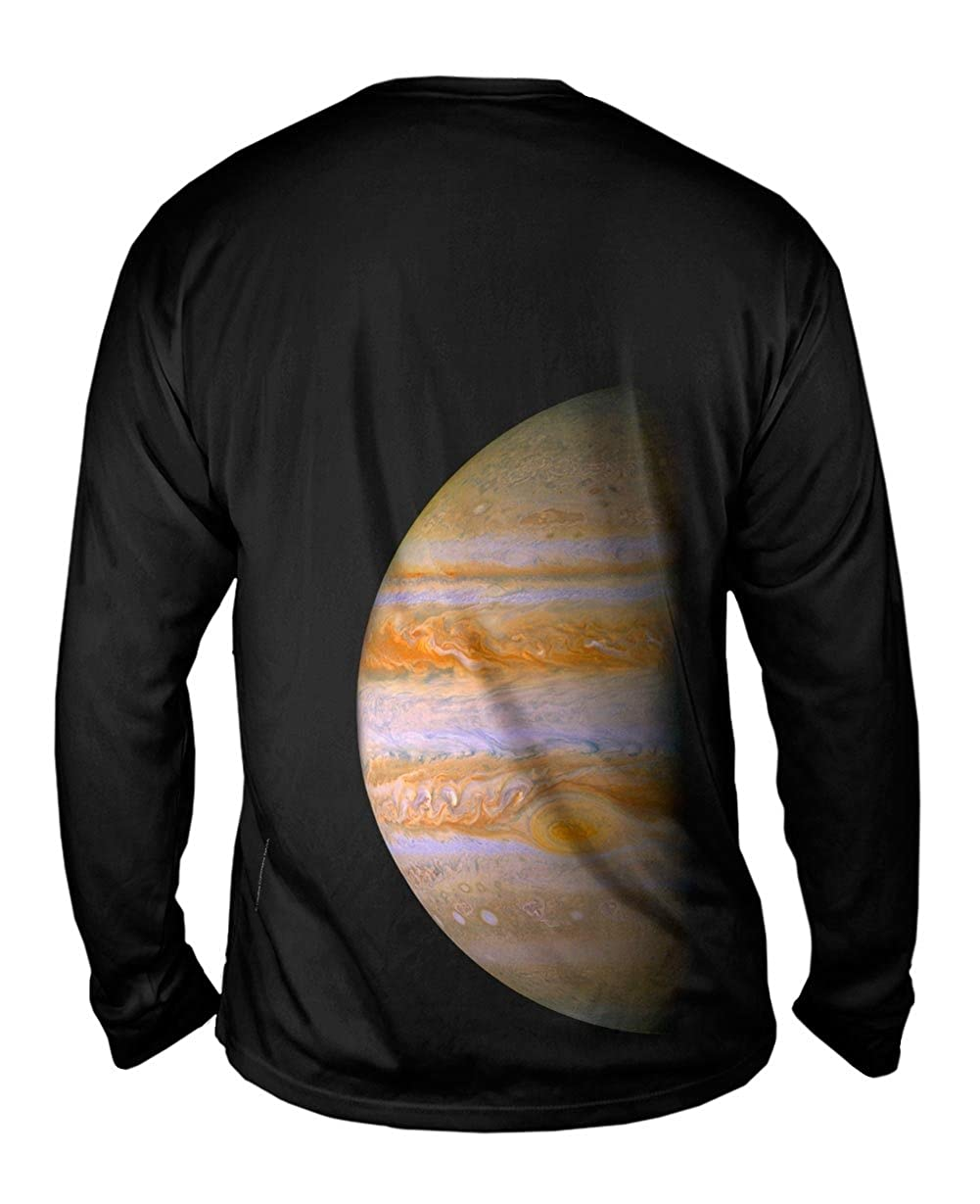 TShirt Yizzam Jupitor Modest Space Mens Long Sleeve