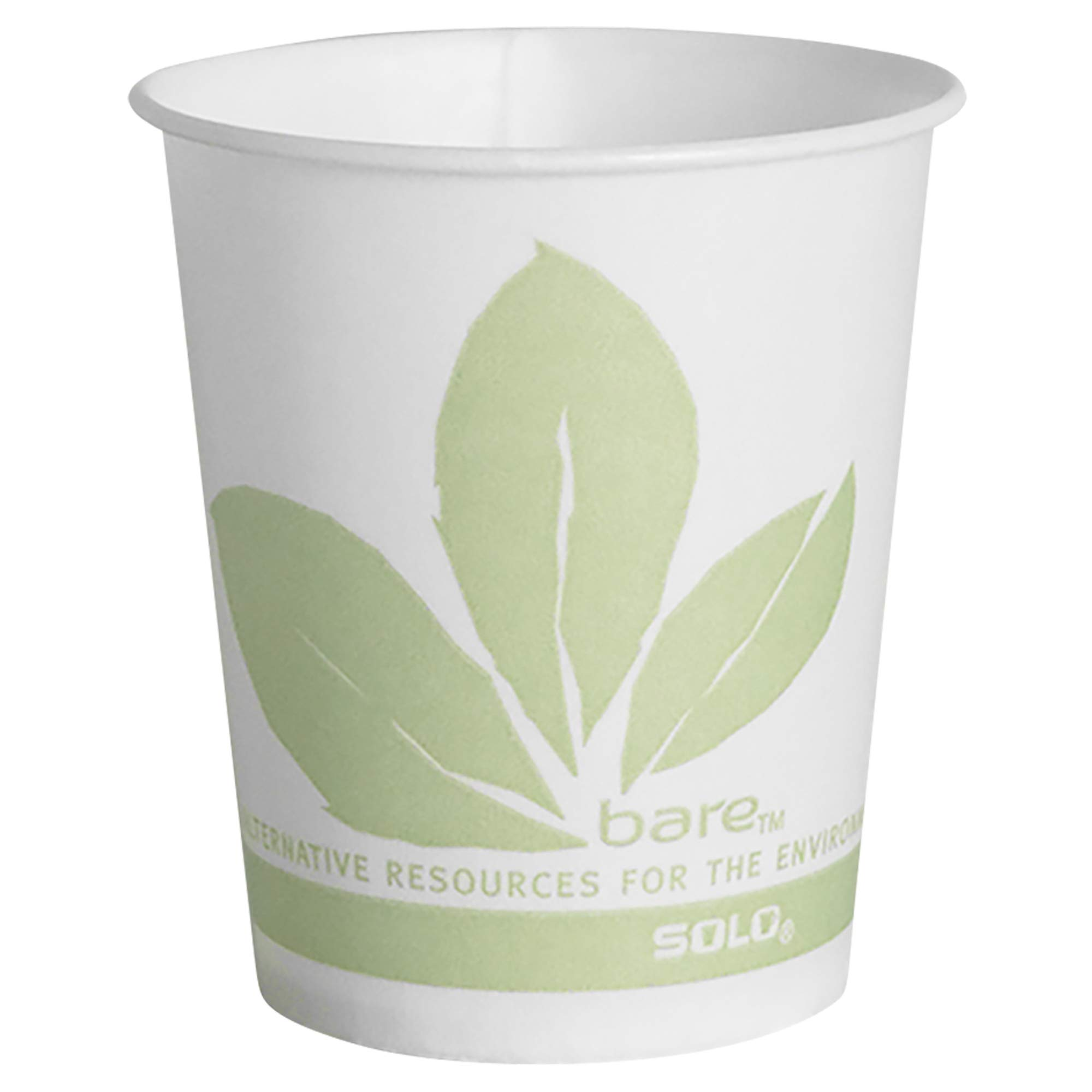 Solo R53BB-JD110 5 oz Bare Waxed Paper Cold Cup (Case of 3000)