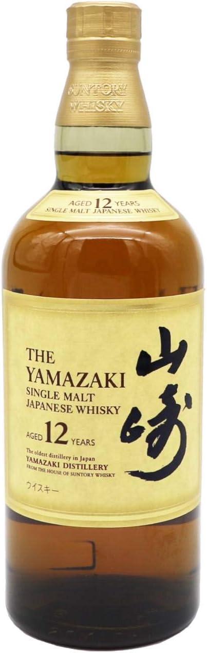 Whisky Suntory Yamazaki 12 Años Estuchado, Botella de 70 cl. + Estuche: Amazon.es: Alimentación y bebidas