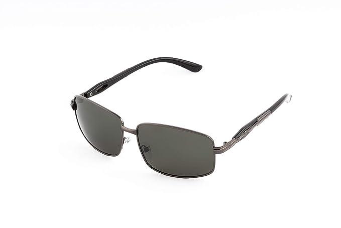 Sunner Gafas de Sol Para Hombre Protección UV400 SUP2825 Lentes Polarizadas Montura Ligera Resistente a los