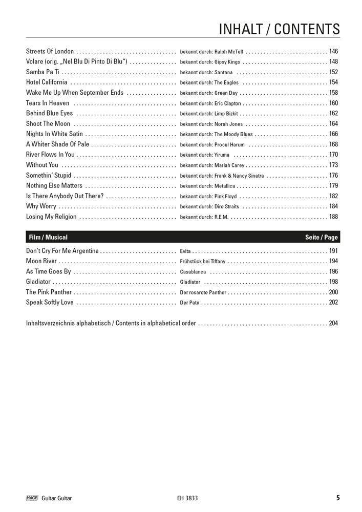 Guitar Guitar - Las 100 mejores melodías de clásico hasta Pop - Fácil hasta medio Arreglados - Ordenador libro con Dunlop Púa: Amazon.es: Instrumentos ...