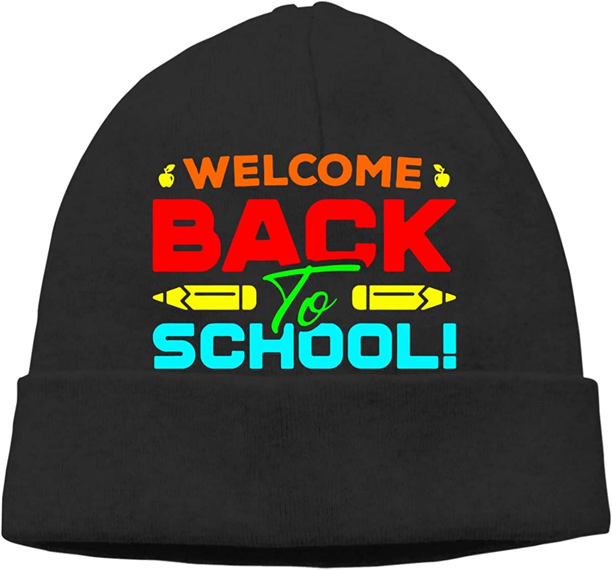 GDSG5/&4 Welcome Back to School Men /& Women Quick Dry Cycling Beanie Hat