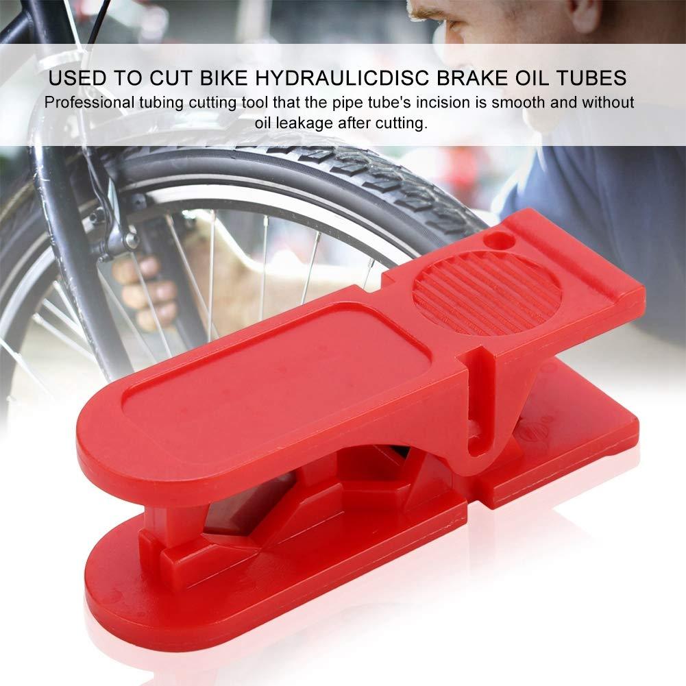 Alomejor Fahrradschneidwerkzeug Fahrrad Hydraulische Scheibenbremse /Öl Rohrschneider Zange Schneidwerkzeug