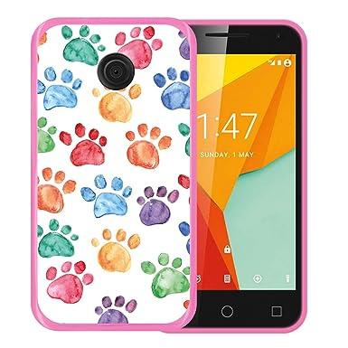 new arrivals c5009 6b25b WoowCase - Vodafone Smart Mini 7 Case Soft Rubber Gel TPU Silicone ...