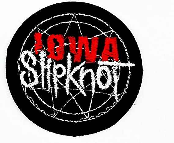 MNC parche negro de Slipknot música banda Heavy Metal ...