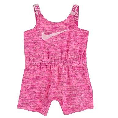 1d146960 Nike Little Girls' Dri-Fit Sport Essentials Romper (Laser Fuchsia(26E444-