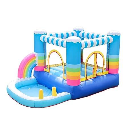 XGYUII Niños Bouncy Castle Tobogán acuático Casa Diapositiva ...