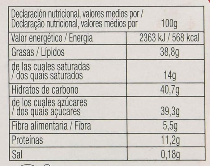 Cailler, Galleta fresca de oblea (con almendras molidas 31 ...