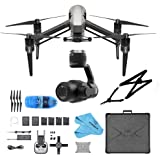 DJI INSPIRE 2 Drone QuadCopter + ZENMUSE X4S For Inspire 2 +Shoulder Strap +SD Reader Starters Bundle