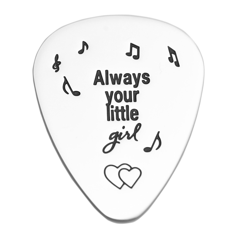 Amazon.com: Siempre Tu Niña púa de guitarra Padre de la ...