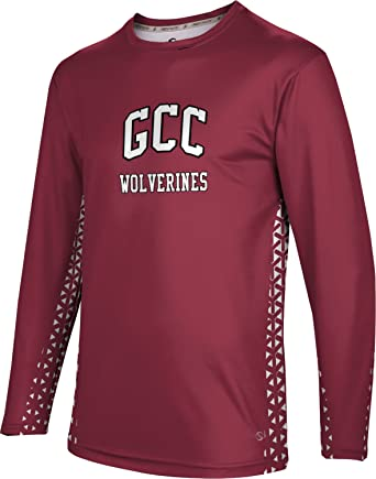 ProSphere Mens Grove City College Geometric Long Sleeve Tee (Small)