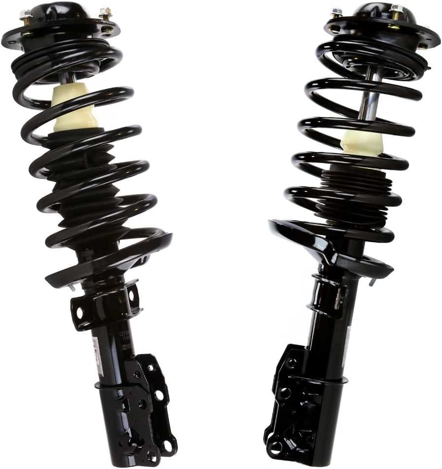 AutoShack CST100156PR Front Complete Strut Assembly Pair 2 Pieces Fits Driver and Passenger Side