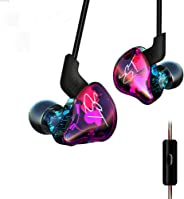 KZ ZST Pro Dynamic Hybrid Dual Driver in-Ear Headphones (Coloful with Mic)