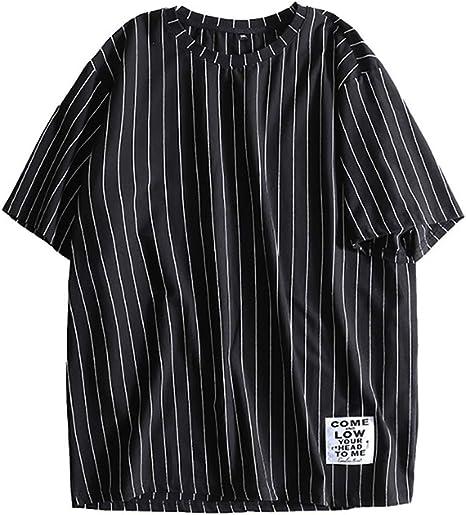 OOFAY Algodón Camisetas para Hombre Camisetas Hombre Manga Corta ...