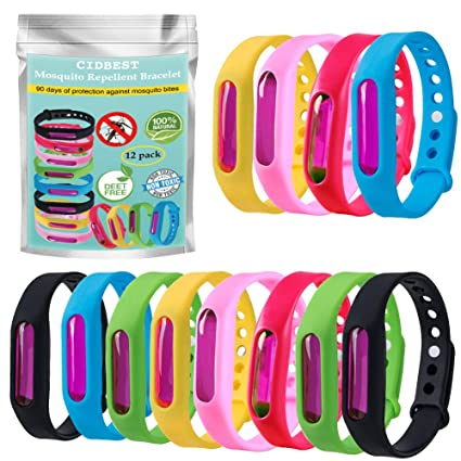 timeless design 3bbd9 24552 CIDBEST Mückenschutz Armband Anti Mosquito Bracelet Anti ...