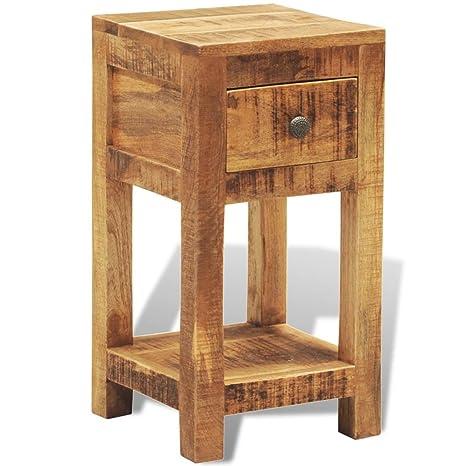 SENLUOWX - Armario de Madera reclinable (1 cajón, 1 Puerta ...