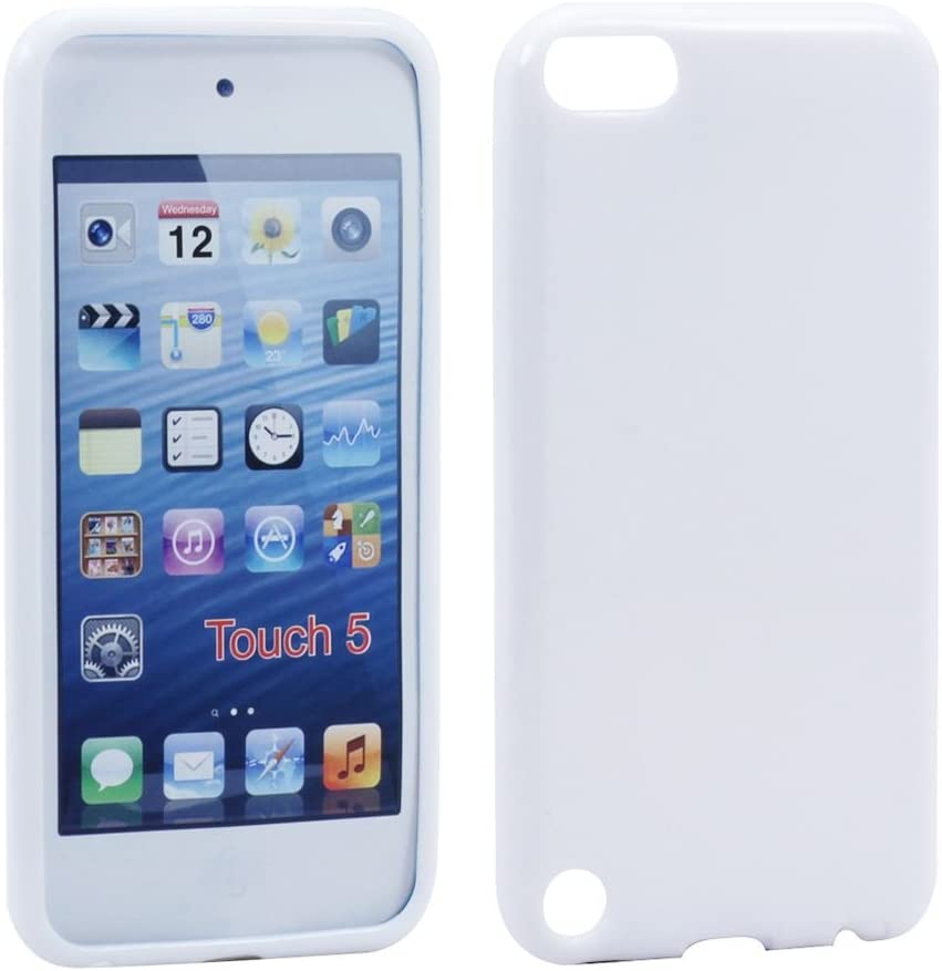iPod Touch 4th Generation Case Silicon Gel Rubber Soft Flexible Screen Protect