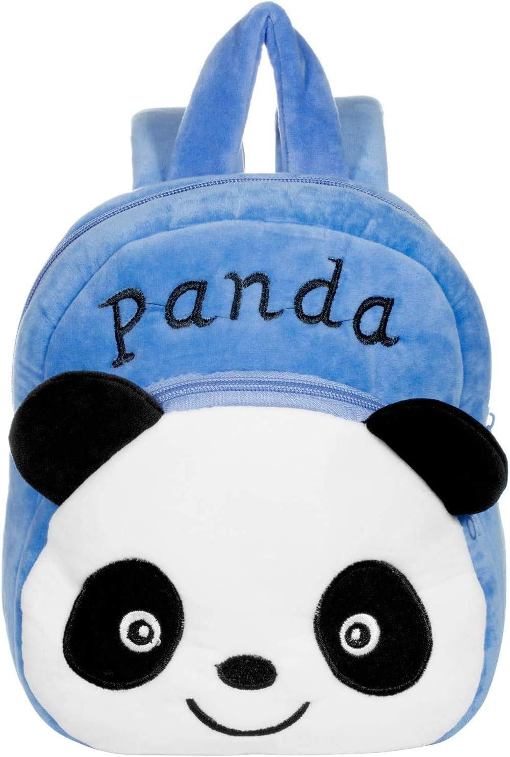 Panda Toddler Kids Backpack Present /& Gifts Little Rucksack for Kids Children Boys Girls Cute Panda Design 3D Cartoon Preschool Rucksack PTN Nursery Toddle Children School Bag Lunch Bag