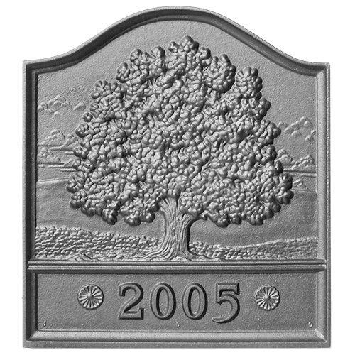 18'' x 20'' Dated Great Oak Fireback by Pennsylvania Firebacks