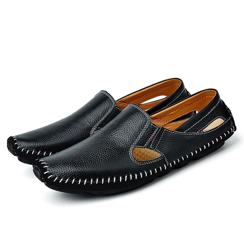 86b43a5453309d ... LXIE Herren Leder Sandalen Sommer Handgefertigte Sandstrand Sandstrand  Sandstrand Schuhe Mode