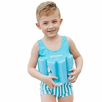 Amazon.com: Kingswell traje flotador bebé traje de baño ...