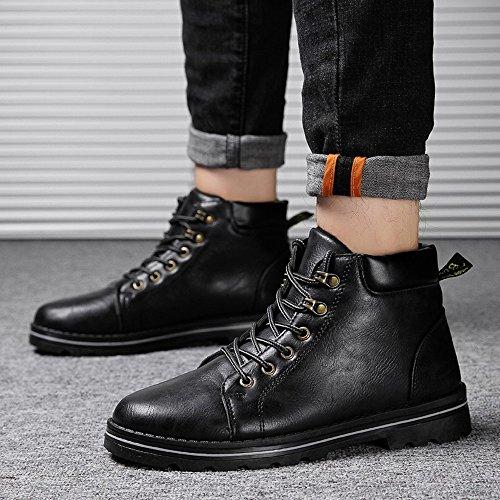 Colori Keep Cn41 Feifei Scarpe Boots Uk7 Scelta Winter colore 3 Eu40 taglia Fashion Taglia Warm Da Antiscivolo 03 Martin Multipla Uomo wSgFnqgpP