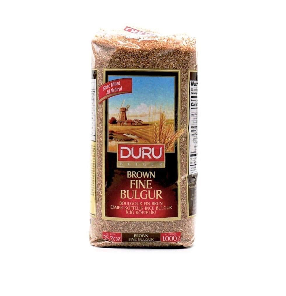 Duru Brown Fine Bulgur 1000 gr, 2.2 lb