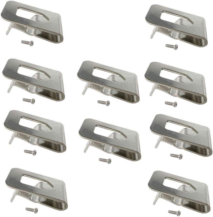 Replacement Belt Hook Clip for Dewalt N268241 Fit for 20V Power Tools DCD980 DCD985 10PACKS