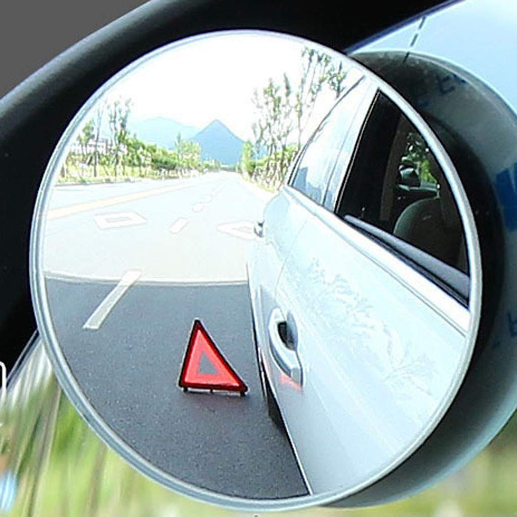 SUV Trucks Vans 100 Curvature 4 Pack 360/°Rotatable Blind Spot Mirror for Car Wing Blind Spot Mirror Adjustable HD Wide Angle Convex Blind 2 Spot Mirror for Cars Motorbike and More to park
