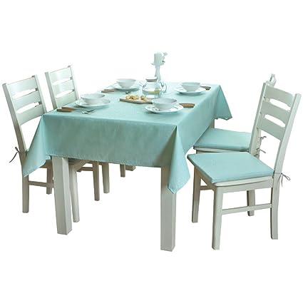 3b5249aa7f LIUYU Mantel de comedor informal impermeable y anti - aceite de poliéster  completo Jacquard de estilo europeo Fresco y elegante ...