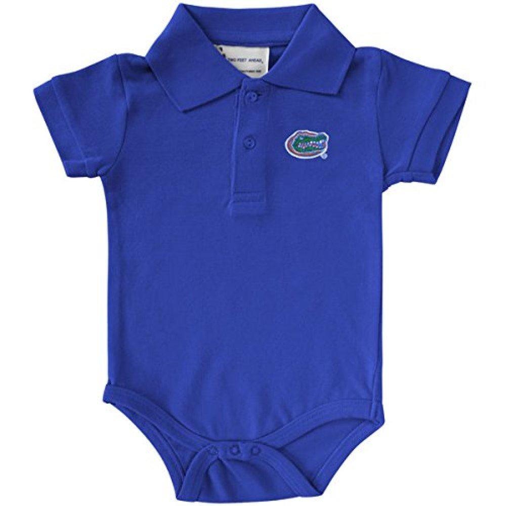 Two Feet Ahead NCAA College Newborn Infant Two Tone Bodysuit Creeper