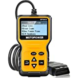 MOTOPOWER MP69033 OBD2 Scanner Universal Car Engine Fault Code Reader, CAN Diagnostic Scan Tool for All OBD II Protocol Cars