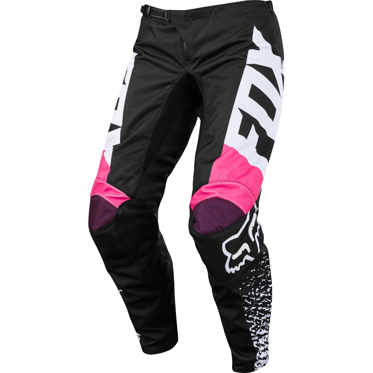 Fox Racing 180 Kids Girls Off-Road Pants - Black/Pink/K5