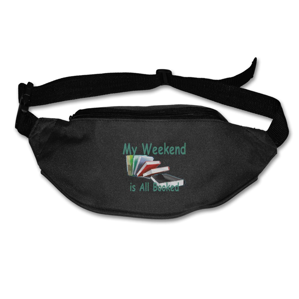 My Weekend Is All Booked Sport Waist Packs Fanny Pack Adjustable For Hike