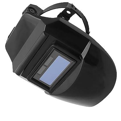 MagiDeal Solar Oscurecimiento Casco de Soldadura ARC TIG MIG Máscara Ajustable Soldadura de Molienda - #