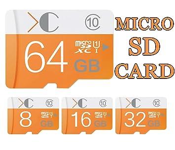Más reciente Tarjeta Micro SD de 64 GB Clase 10 Pro ...