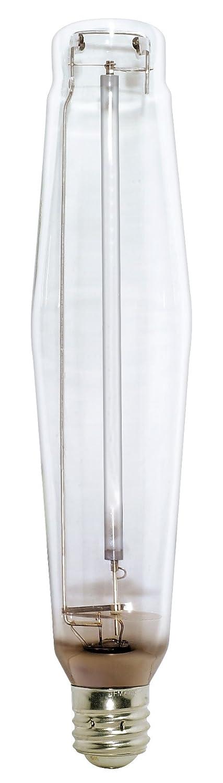 Satco S1928 2100K 1000-Watt Clear Mogul Base E25 High Pressure Sodium